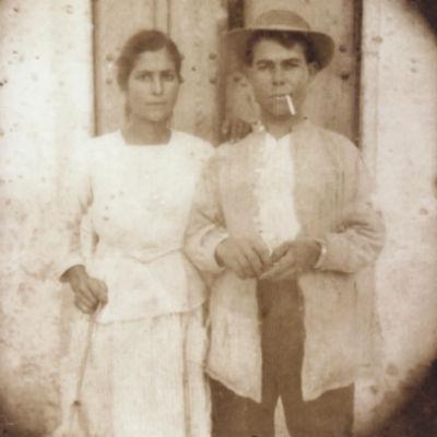 Enriqueta y su marido